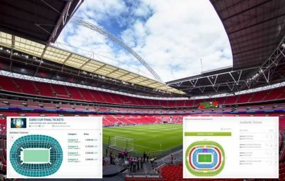 Euro 2020 fans risk being fleeced of thousands as Wembley tickets flogged for £6,500 and cheaper seats at 19 TIMES face value online – The Sun