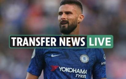 11pm transfer news LIVE: Chelsea's Giroud wanted at Inter, Mbappe to Real Madrid 'pact', 'Neymar Out' say fans – The Sun
