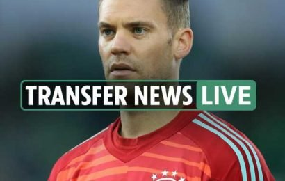 9pm transfer news LIVE: Neuer could retire, Van Dijk dismisses Liverpool new deal talk, 'Neymar Out' PSG graffiti – The Sun