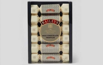 Matalan is selling Baileys chocolate truffle crackers so you can stock up for Christmas