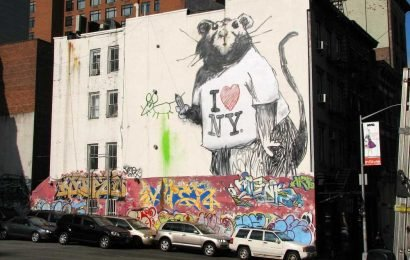 Why Banksy could be coming to NYC this weekend