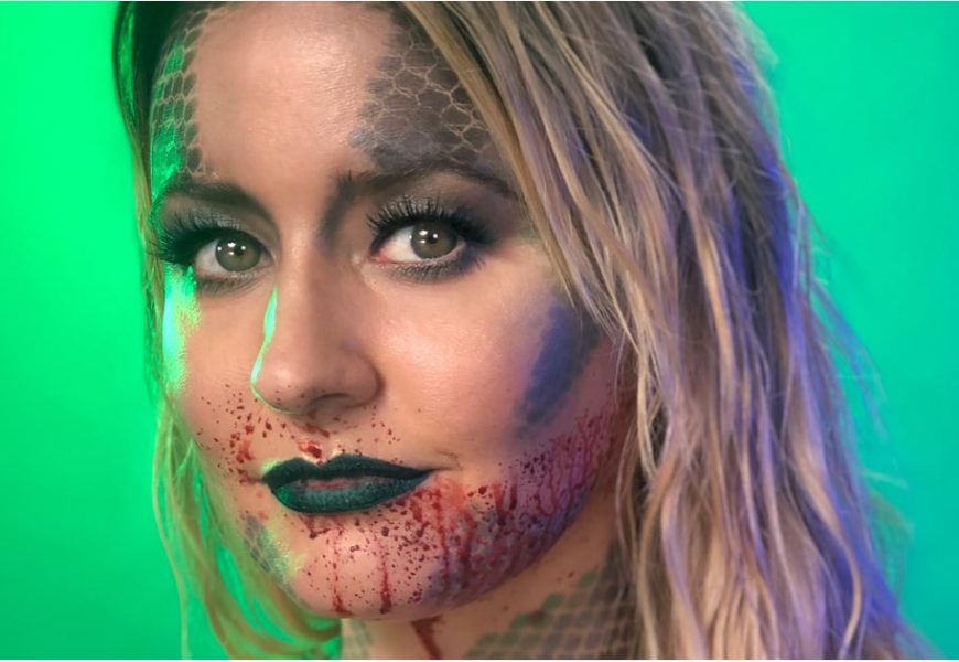 Love Creepy but Pretty Costumes? This Mermaid Look Was Made For You