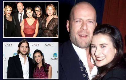 How Demi Moore went from Hollywood acting royalty to 'completely alone' after three failed marriages – The Sun