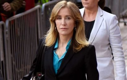 Felicity Huffman to appear in court for sentencing
