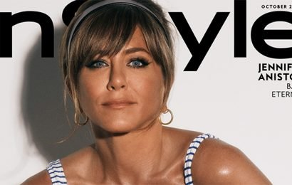 Jennifer Aniston, 50, Looks Ageless In Sexy Lace-Up Swimsuit On Cover Of 'InStyle' Magazine