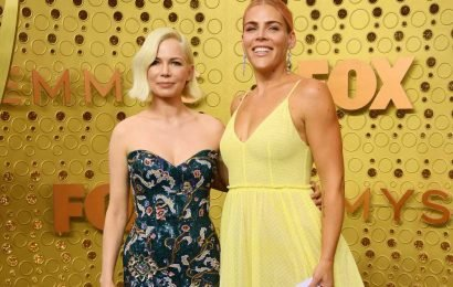 Michelle Williams attends Emmys 2019 with Busy Philipps