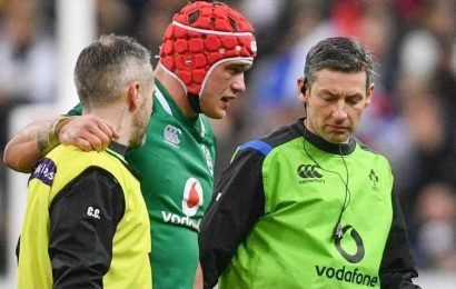 How many substitutes can teams use in the Six Nations 2019 rugby games?