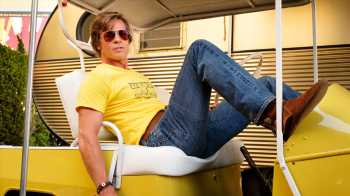 Brad Pitt Teases Potential 'Once Upon a Time in Hollywood' Mini-Series