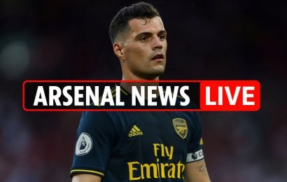 9pm Arsenal news LIVE: Vitoria details confirmed, Xhaka set to miss October, Holding returns to training, Guendouzi praised by Deschamps – The Sun