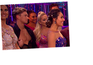 Strictly's AJ caught flashing his nipple to the camera during live show