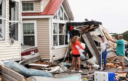 Hurricane Dorian puts spotlight on homes barely recovered from Florence