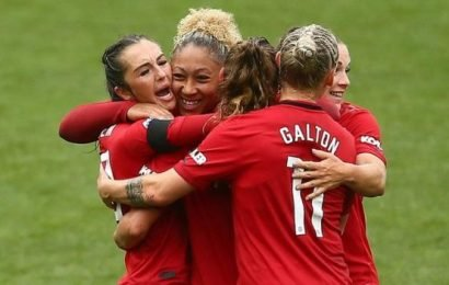 WSL: Manchester United 2-0 Liverpool – Casey Stoney's side earn first Super League win