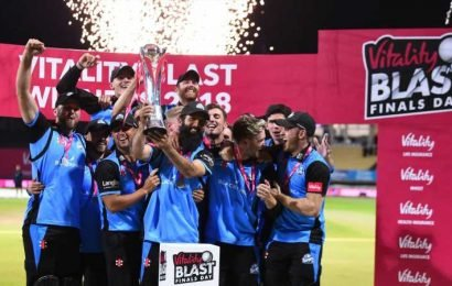 Vitality Blast Finals Day: Derbyshire, Essex, Nottinghamshire and Worcestershire battle for title