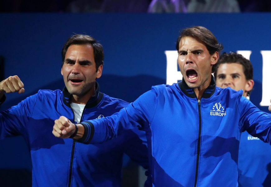 Roger Federer And Rafael Nadal Were Obscene And Hilarious As Coaches At The Laver Cup