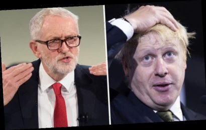 Boris Johnson vs Jeremy Corbyn body language: BoJo 'super-exaggerates' as 'power gesture'