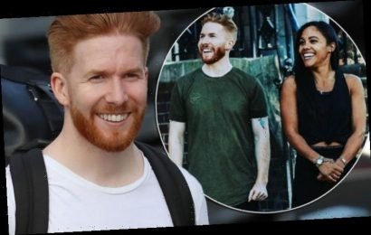 Neil Jones: Strictly 2019 pro says Alex Scott 'makes him smile' after emotional video