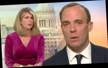 Dominic Raab pulls apart GMB's Garraway 'that's just not factually accurate' as row erupts
