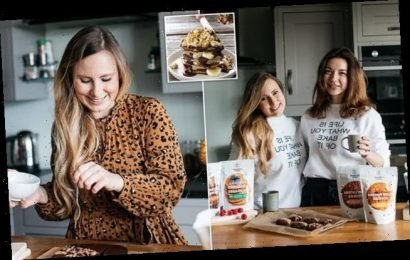 Friends with cake mix business are set to make £1.5million next year