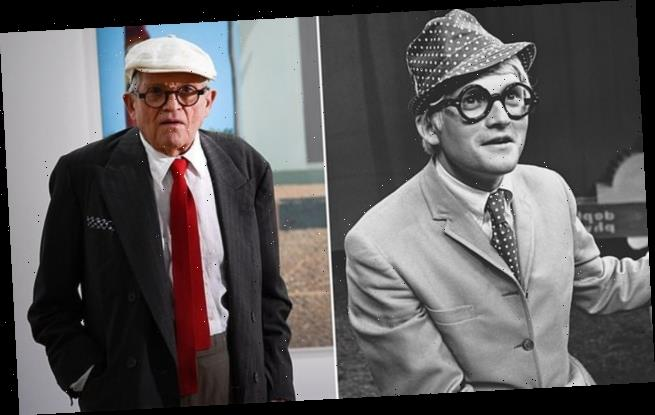 Art curator fobbed off David Hockney who was pushing for his big break