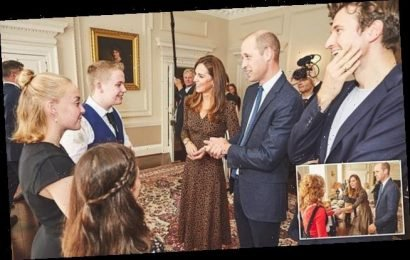 Kate Middleton wows in £395 LK Bennett dress in unseen images
