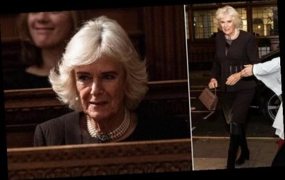 The Duchess of Cornwall attends church service in London