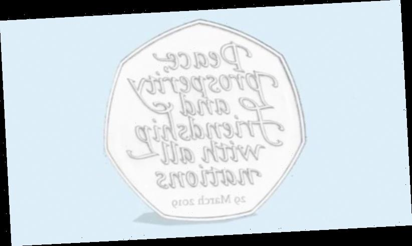 Brexit coins to be melted down