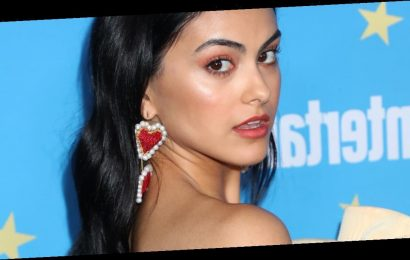 Camila Mendes's Black Nail Polish Color Is a Power Move, and It's So Fitting