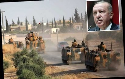 Turkish President Erdogan repeats threat to flood Europe with refugees after Trump imposes £80million in sanctions – The Sun