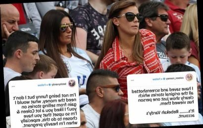 Coleen Rooney accuses Rebekah Vardy of 'leaking stories about her' – before fellow WAG hits back