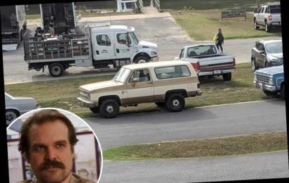 Stranger Things series four starts filming – and fans are convinced Hopper is ALIVE as his car's spotted on set