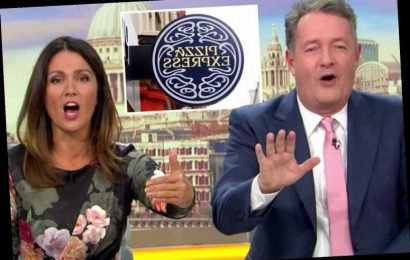 Piers Morgan begs viewers to save Pizza Express as he asks 'have you had sex in Pizza Express?'