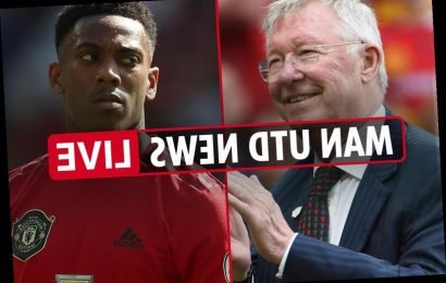 8pm Man Utd news LIVE: Martial eyes goals in No.9 shirt, Liverpool build-up, Greenwood new contract, Fergie at training – The Sun