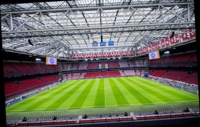 Ajax insist pitch will hold up for Chelsea clash after fears following 40,000 sold out David Guetta concert – The Sun