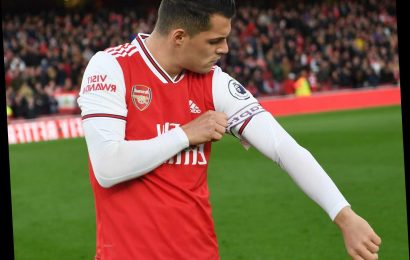 Xhaka at risk of being dropped this weekend as Arsenal boss Emery refuses to confirm comeback after 'f*** off' row – The Sun