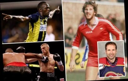 From Petr Cech playing ice hockey to Usain Bolt swapping track and field for football, stars who changed their sports – The Sun
