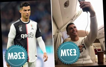 Cristiano Ronaldo earns more money from Instagram than playing for Juventus
