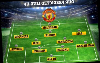 How Man Utd could line up if they swap Pogba for Bale and land transfer targets Mandzukic and Muller – The Sun
