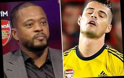 Arsenal captain Granit Xhaka blasts Patrice Evra for spouting 'bulls***' after branding club 'babies' – The Sun