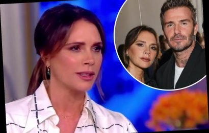 Victoria Beckham gushes over 'inspirational' husband David as she jokes about sex life after 20 years of marriage