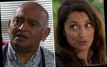 Emmerdale fans shocked as Rishi Sharma faces prison after killing Derek with his dodgy chocolates