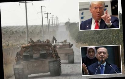 Donald Trump 'fully prepared' to take military action against Turkey as fragile ceasefire risks more Kurdish bloodshed – The Sun