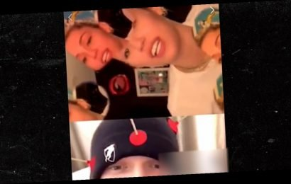 Miley Cyrus Shades Liam Hemsworth During Live Vid with Cody Simpson