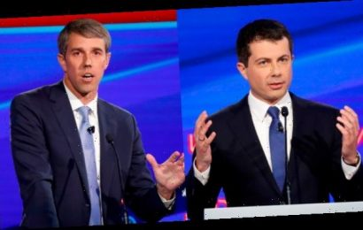 Pete Buttigieg & Beto O'Rourke Face Off Over Assault Weapons During Dem Debate & Twitter Gasps