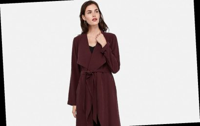 Reviewers Say This 40%-Off Trench 'Makes Fall Look Effortless'