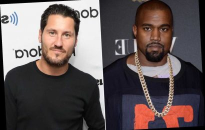 Kanye West Disses DWTS — and Pro Val Chmerkovskiy Includes Kim Kardashian in His Response