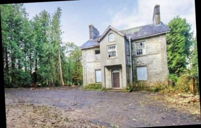 Four-bedroom country manor house on sale for just £40k – but it needs a LOT of work – The Sun