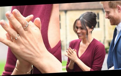 Meghan Markle's Two New Gold Rings Support Causes Close to the Duchess's Heart
