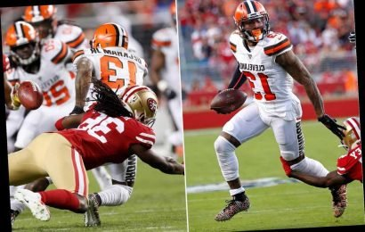 One play sums up sad start to Odell Beckham's Browns career