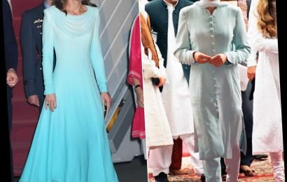 Kate Middleton Channels Princess Diana's Pakistan Tour Style in Traditional Style — with a Twist!
