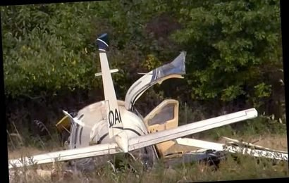 3 People Dead and 3 Critically Injured After Small Plane Crashes Near Michigan Airport